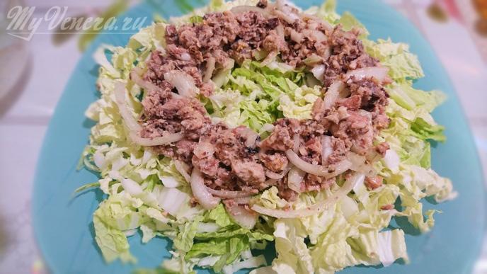 Сардина в масле рецепты салатов